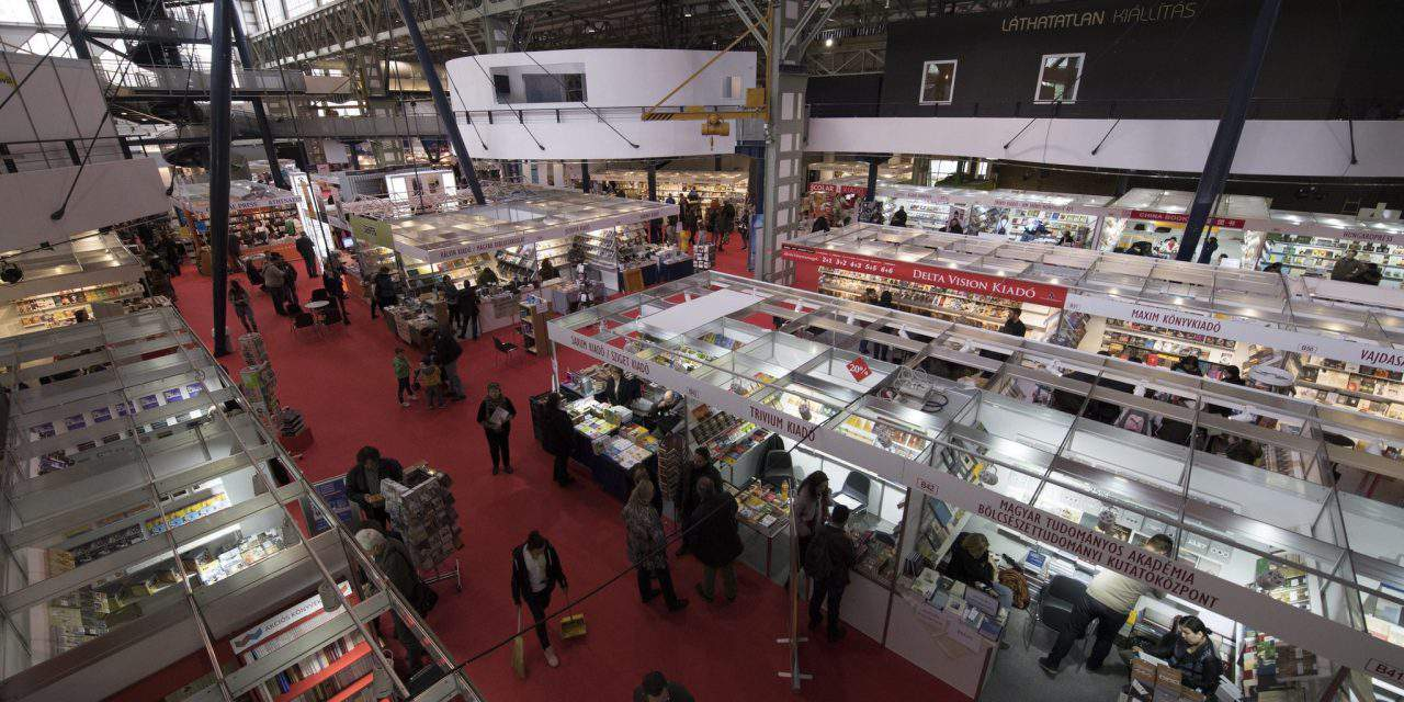 Budapest International Book Festival attracts 60,000