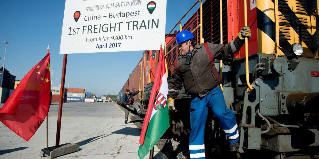 First direct freight train from China arrives in Hungary