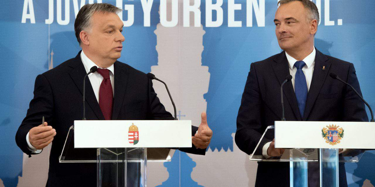Orbán signs Modern Cities partnership with Győr