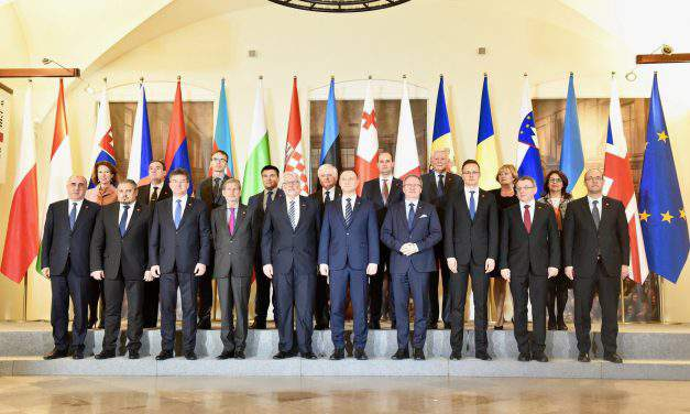 Meeting of foreign ministers of the V4 group and the six non-EU states of the Eastern Partnership in Warsaw