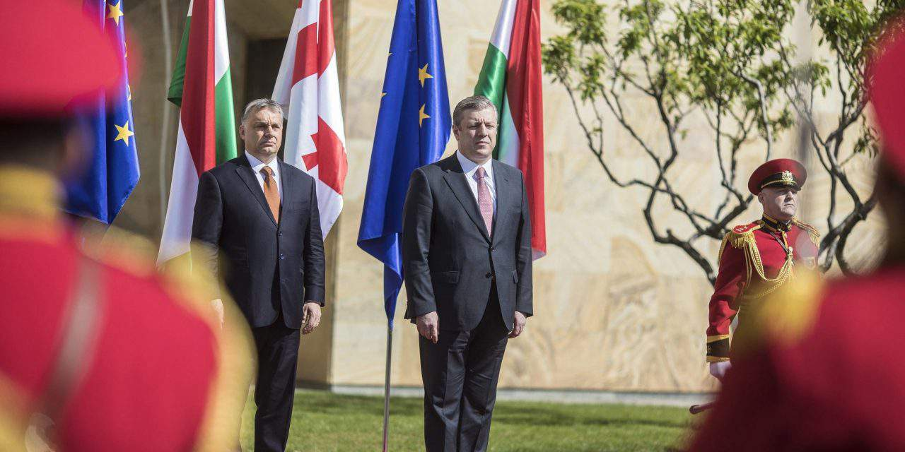 Good Hungary-Georgia ties should promote economic cooperation, says Orbán
