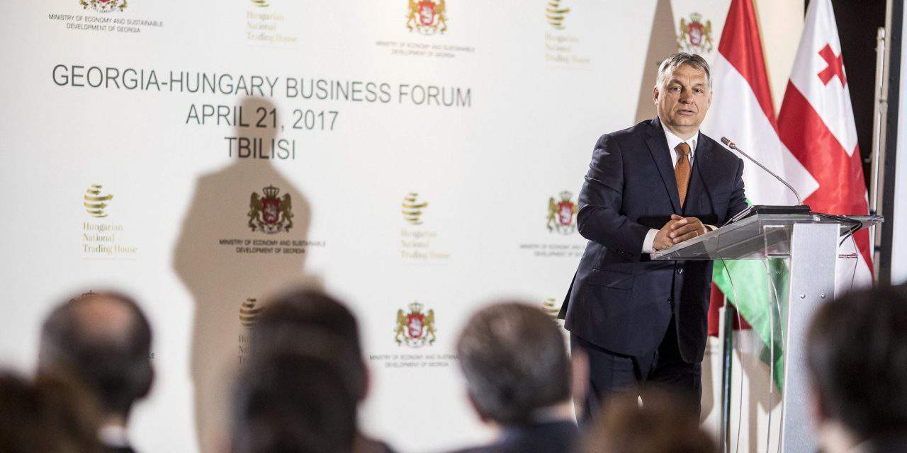 Hungarian-Georgian business forum held in Tbilisi