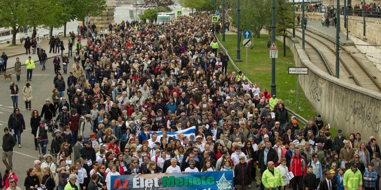 March of the Living in Budapest