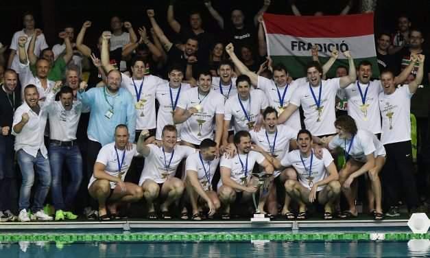 Ferencváros wins Water Polo Euro Cup