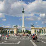 budapest heroes square