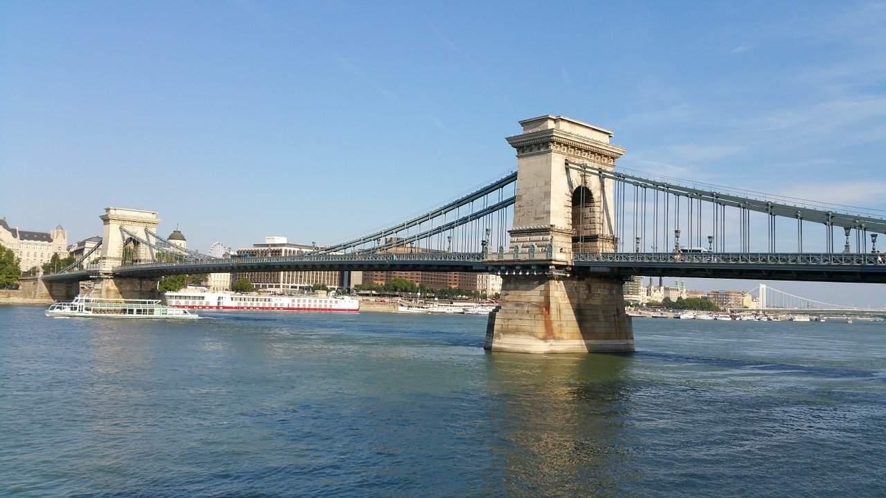 chain bridge lánchíd Széchenyi
