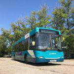 Last Ikarus bus made in Hungary returns to Budapest