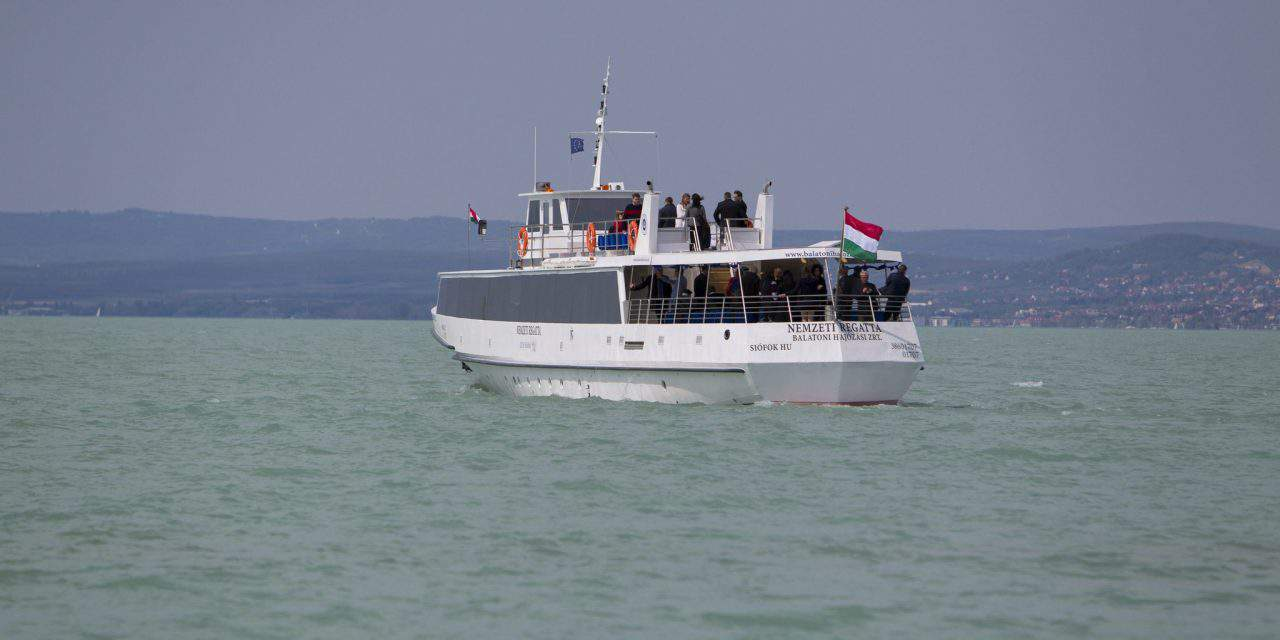 The sailing season started at Lake Balaton