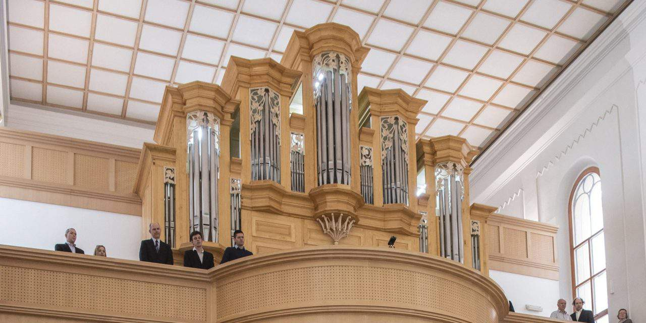 Organ dedication in German-speaking church in Budapest