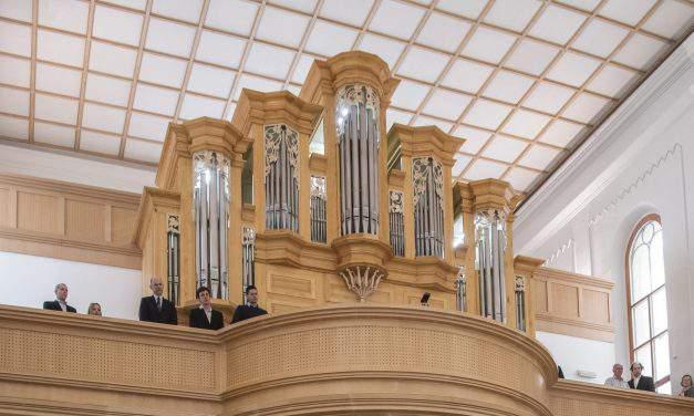 Organ dedication in German-speaking church in Budapest