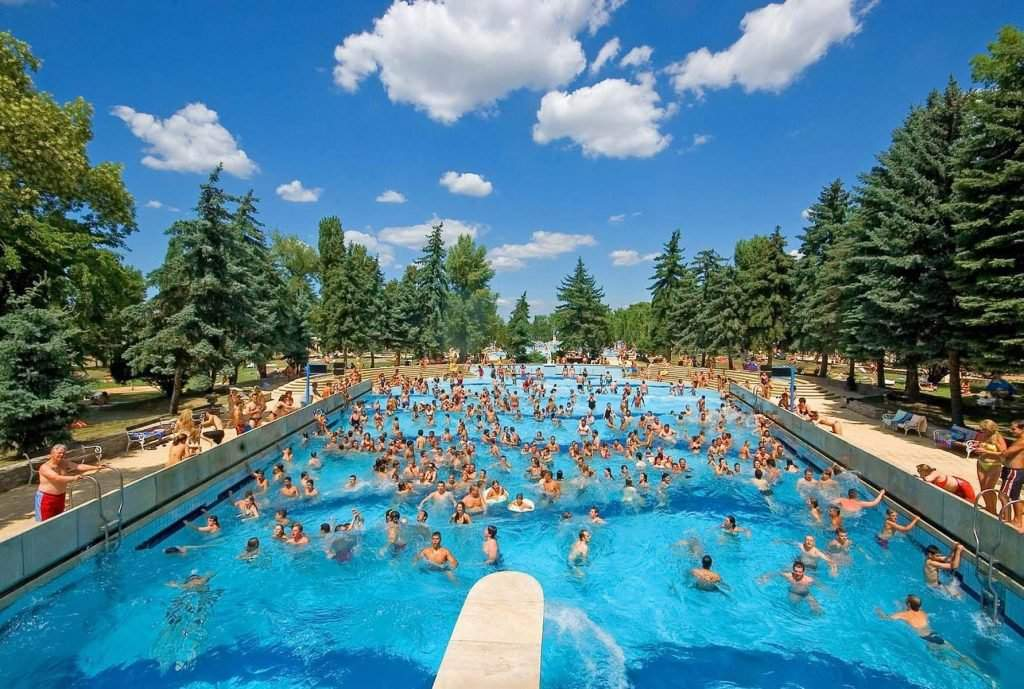 Palatinus Budapest baths