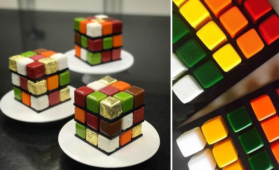 Rubik's Cube Rubik Ernő pastry chef
