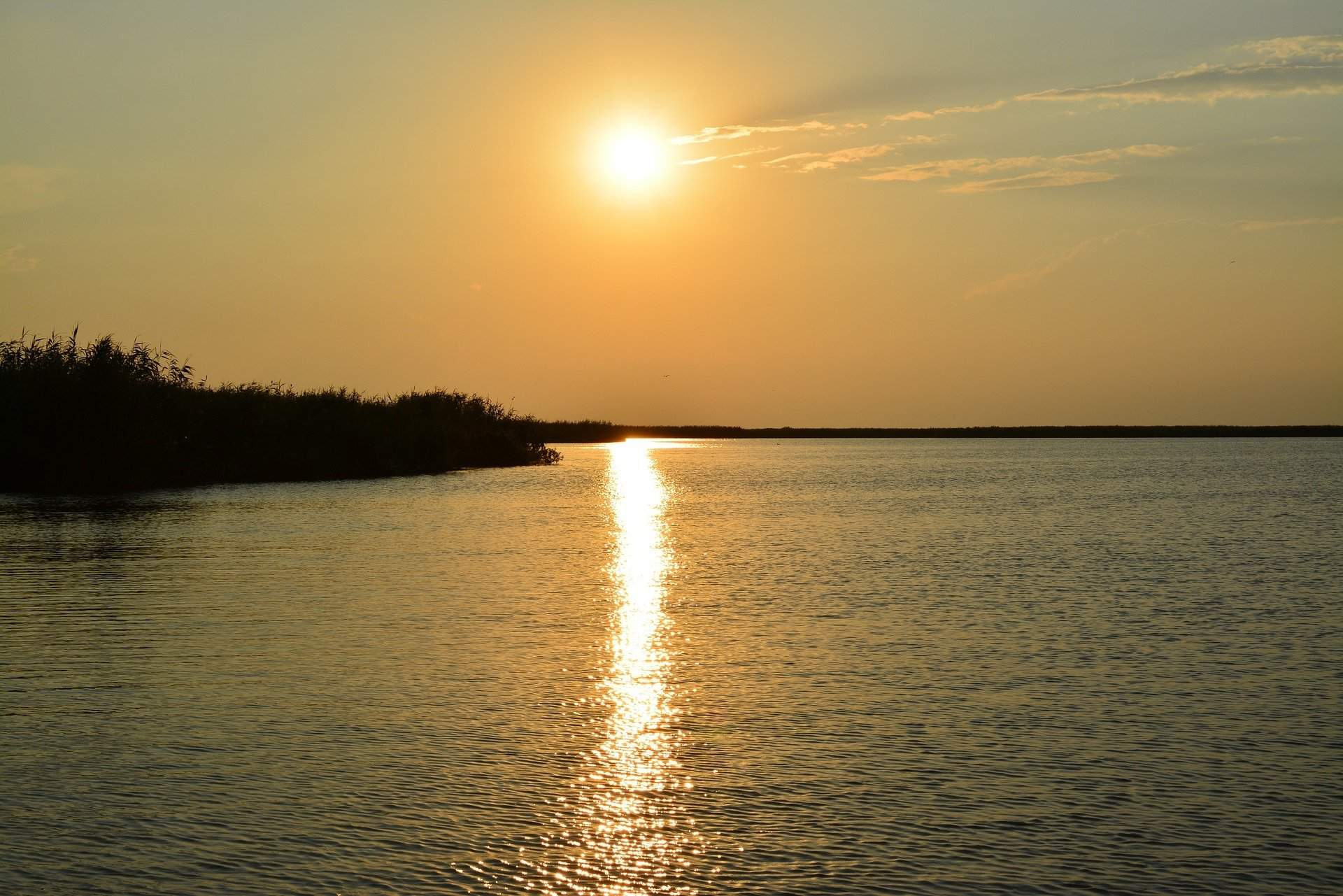 sunset-danube