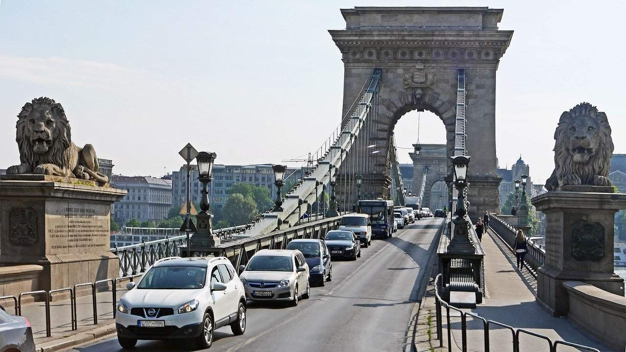 Budapest Hungary traffic statistics