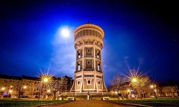Hungary's oldest water tower is opened