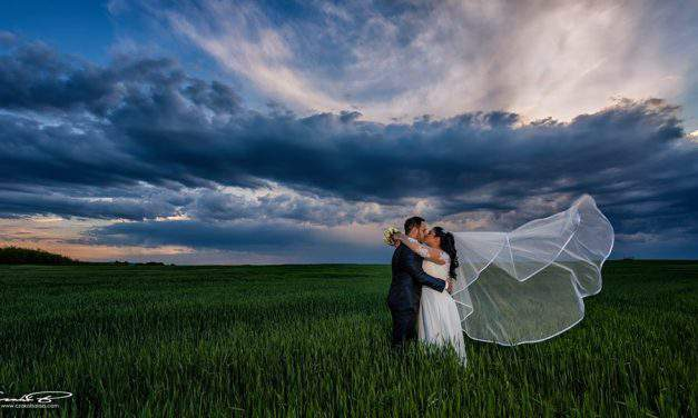 A Hungarian wedding photographer is dropping jaws with his work