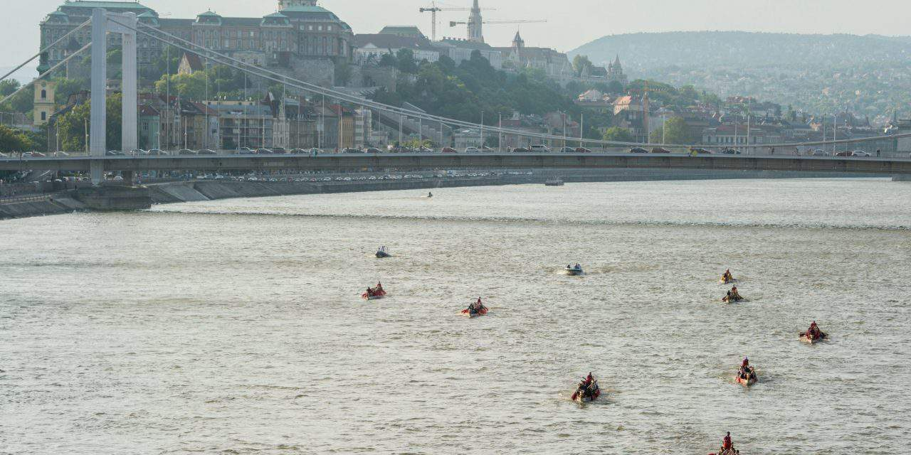Title holders won at the Danube Regatta