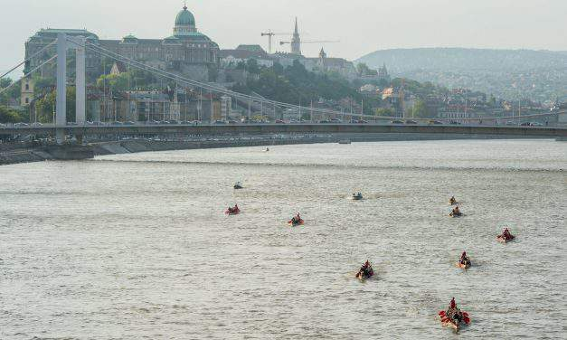 Title holders won at the Danube Regatta