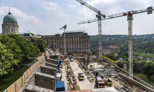 Hungary construction sector output jumps one-third in March