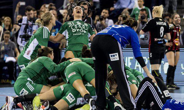 Trophy of the European club handball returns to hands of the Hungarian Győr!
