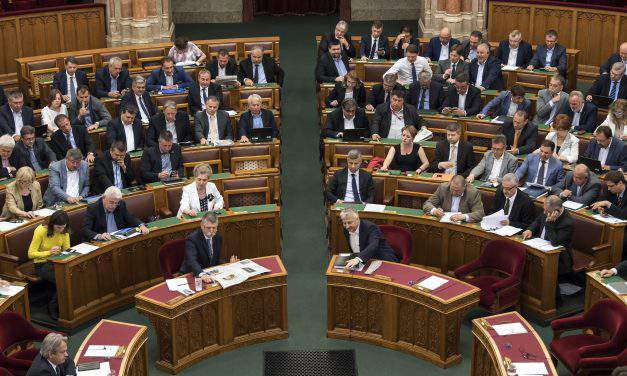 Parliament votes to dock opposition MPs' pay