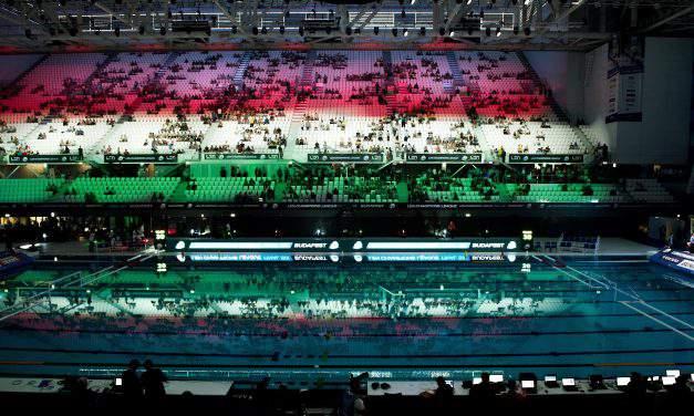 Danube Arena: amazing debut, great success