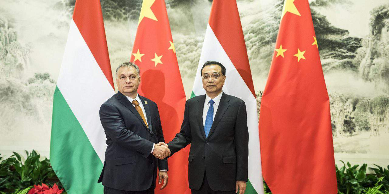 Hungary has become China's number one economic partner in Central Europe
