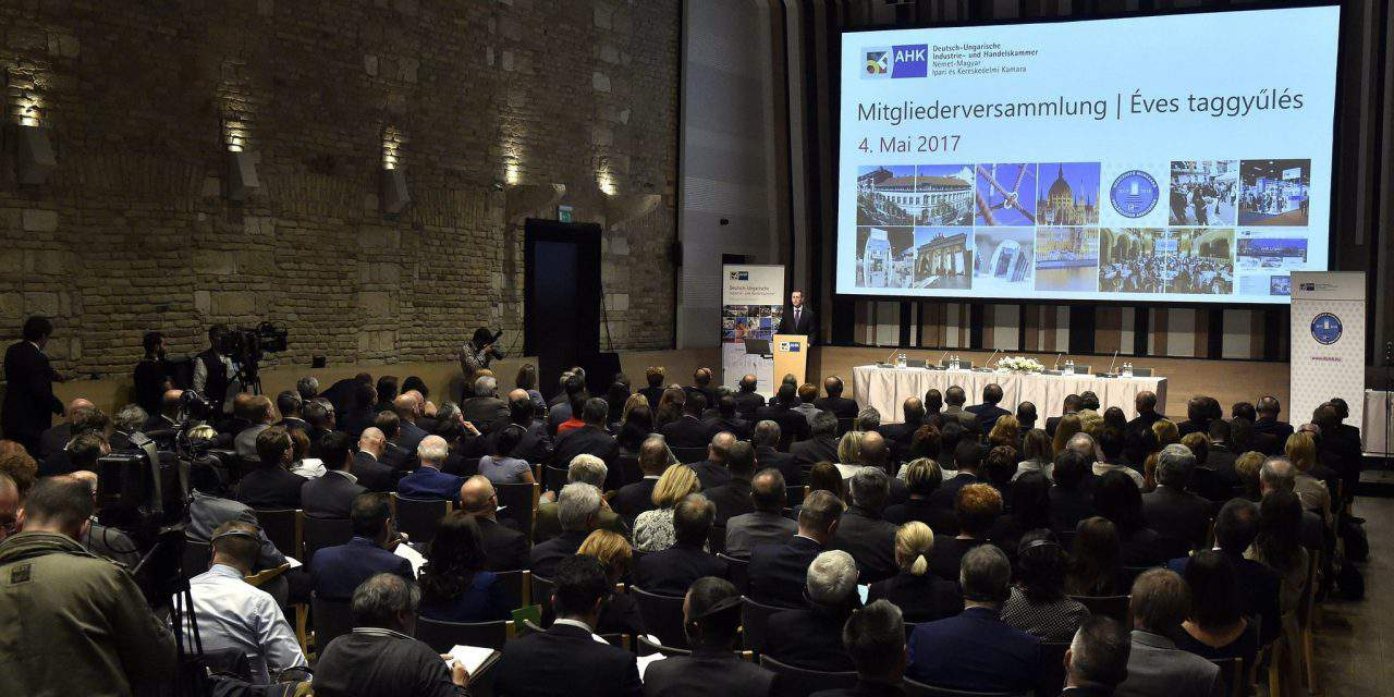 Meeting of the German-Hungarian Chamber of Industry and Commerce in Budapest