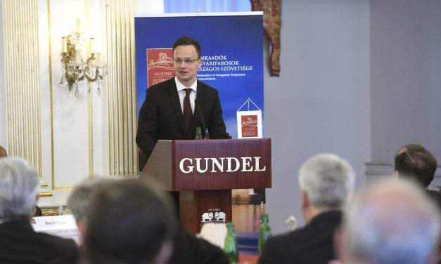 Foreign minister: Hungary aims to foster region's best investment environment