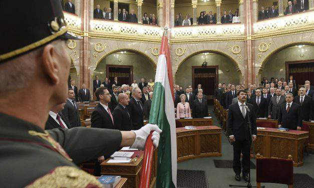 Áder takes presidential oath of office – UPDATE