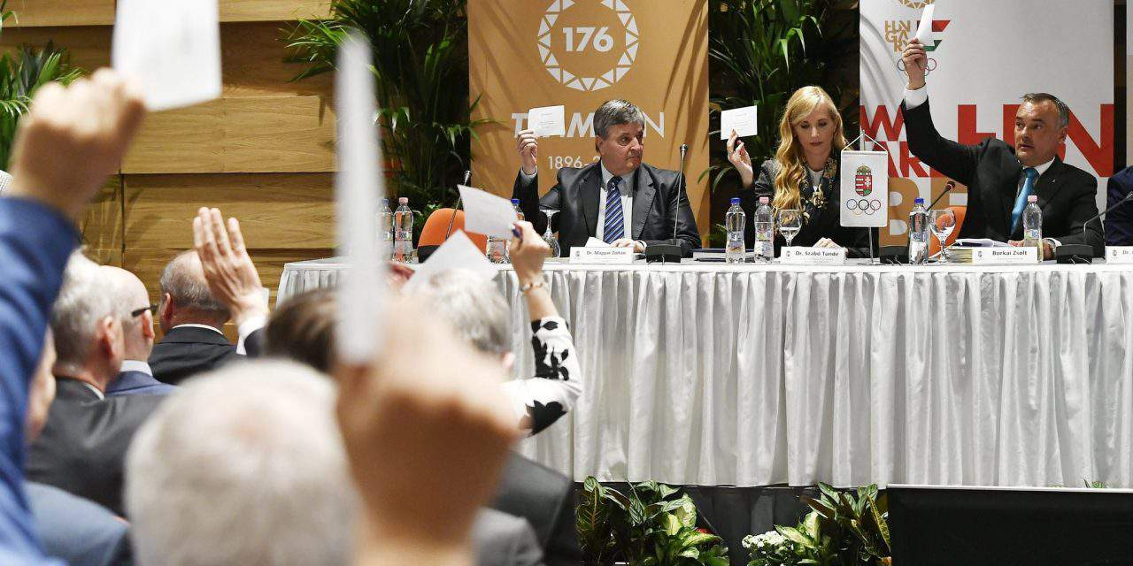 Hungarian Olympic Committee elects new president