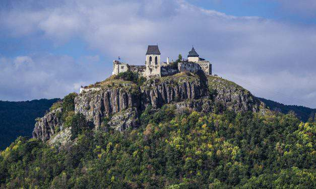 Fascinating Hungarian castle on a volcanic hill