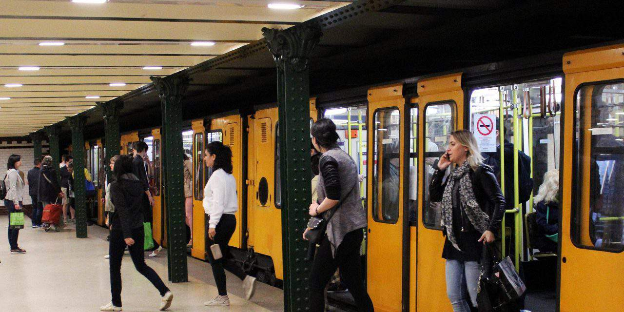 Budapest among the last cities where bikes are forbidden in the metro