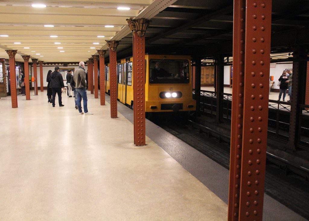 budapest metro undergound railway bkk bkv