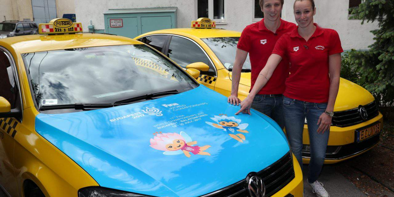Főtaxi is promoting the 17th FINA World Championships