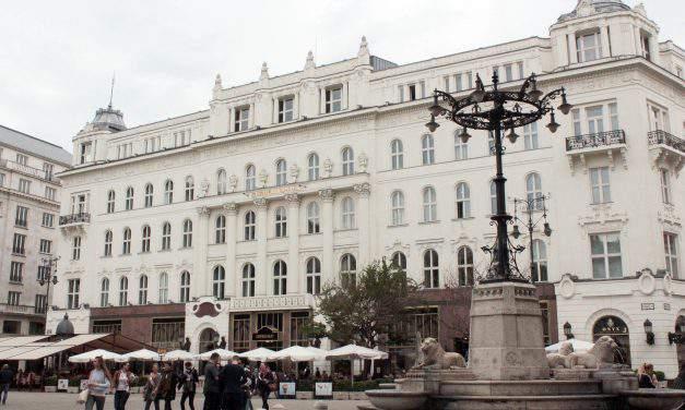 Gerbeaud Café is listed among Europe's best historic cafés