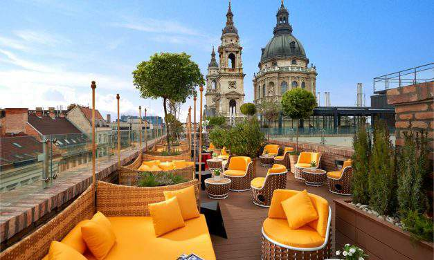 Budapest has the best rooftop bar in the world!