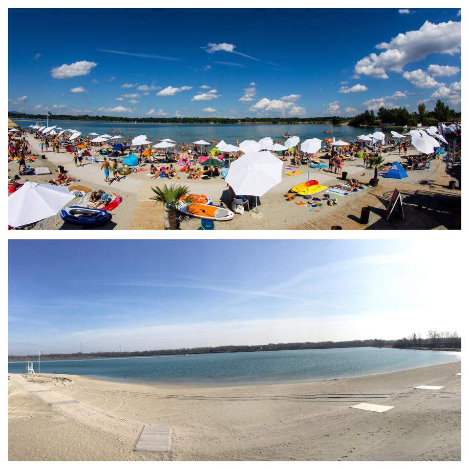 Sandy Beach: Now Budapest Has A White Sandy Beach