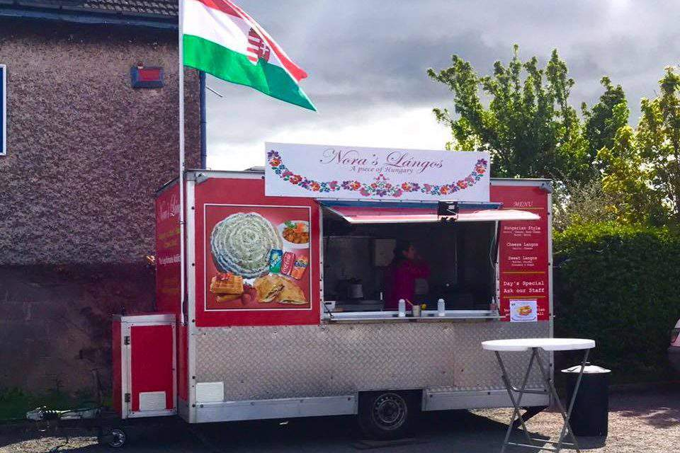 People love Nóra's Hungarian langos in Ireland