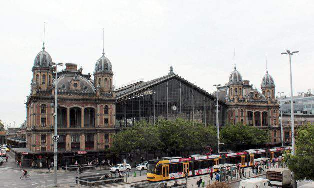 Budapest Nyugati railway station is 140 years old