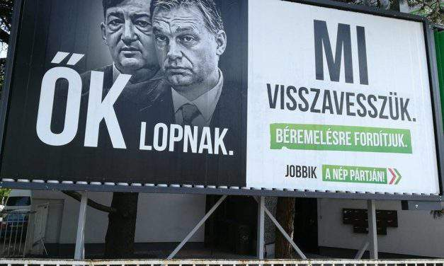 Hungarian ruling parties bill on election campaign billboards fails