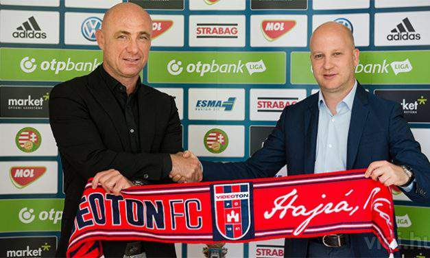 Marko Nikolic is the new manager of Videoton FC