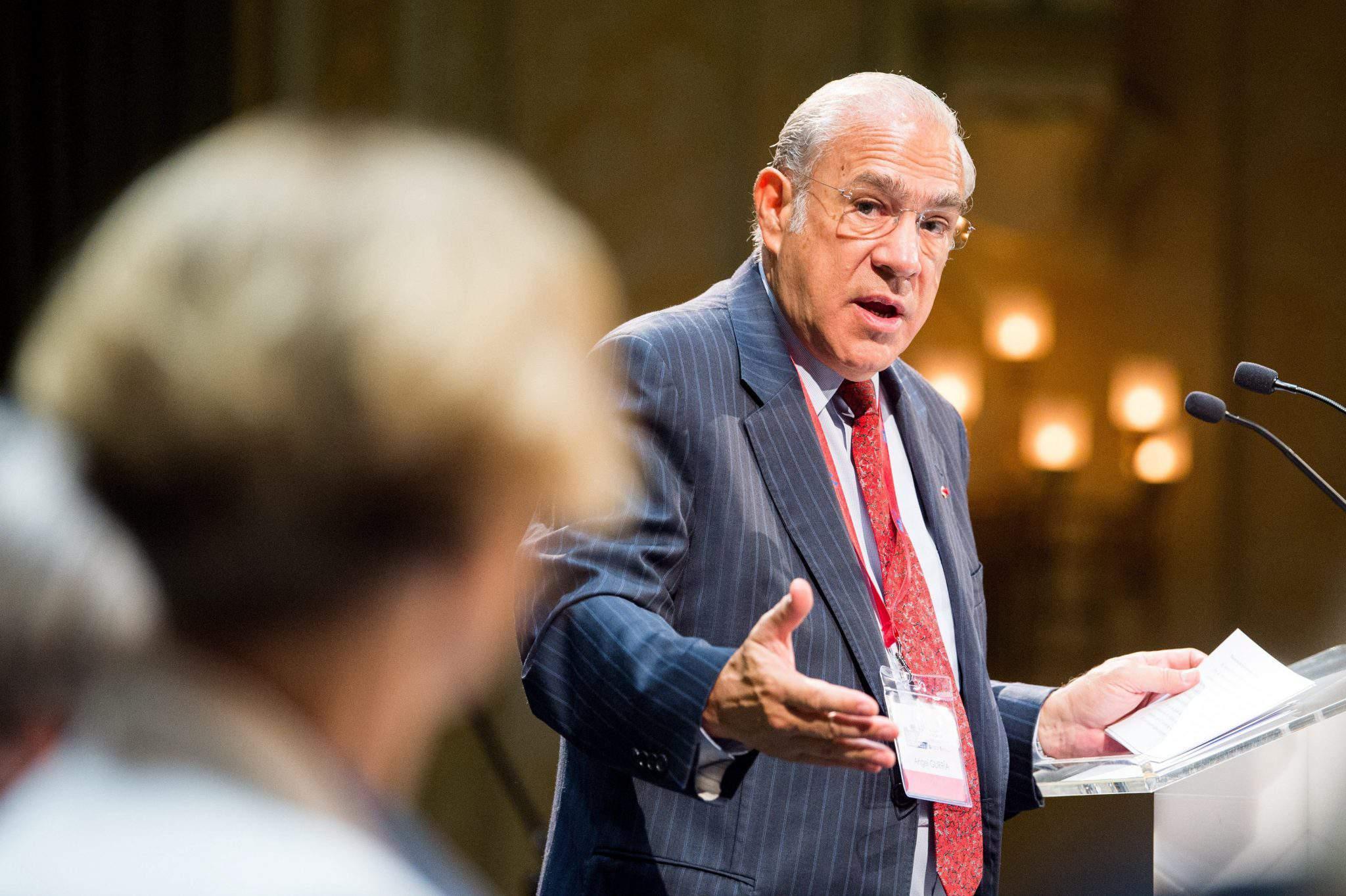 Ángel Gurría OECD