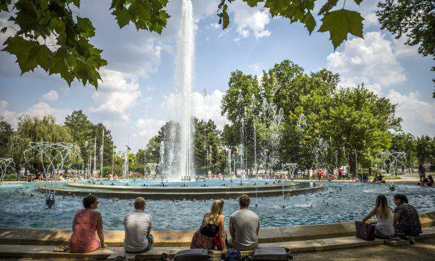Weather: storms ease the great heat in Hungary