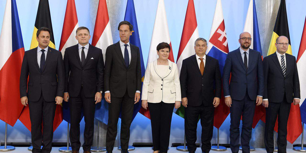 V4-Benelux summit on migration issues