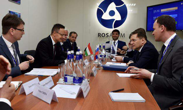 Paks upgrade Hungary's 'largest ever' development project, says foreign minister in St Petersburg