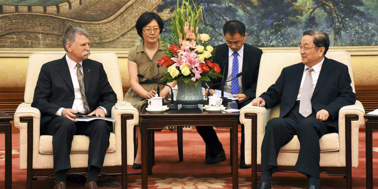 Hungary's house speaker holds talks in China