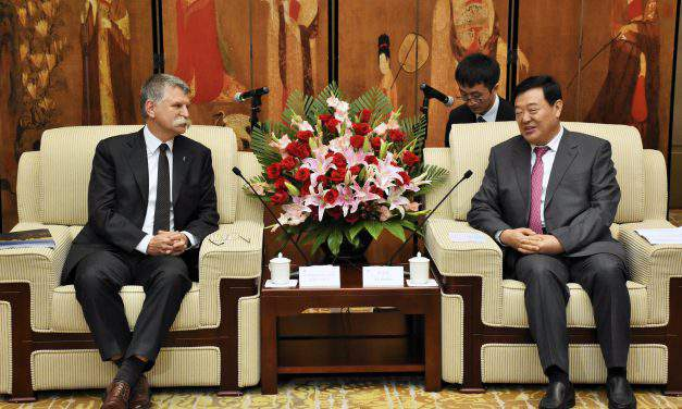 Hungary's house speaker holds talks in China's Shaanxi Province