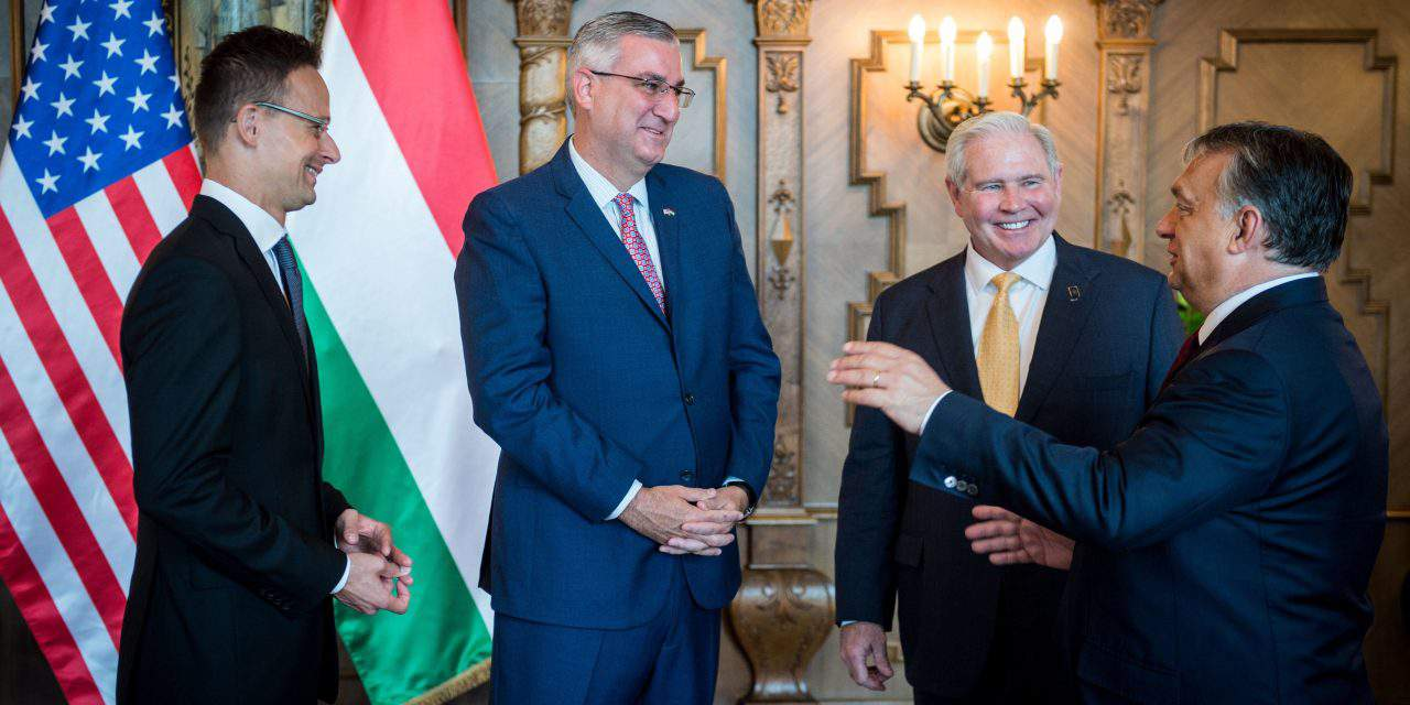 Governor of Indiana visits Hungary – UPDATE