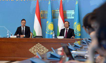 Hungarian FM discusses bilateral cooperation in Kazakhstan